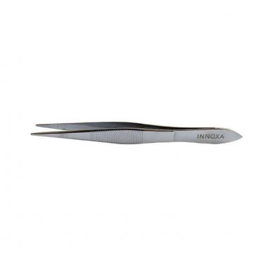 Pince à épiler pointe fine silver - 10 cm