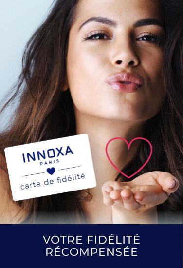 Votre fidélité récompensée : carte de fidélité INNOXA