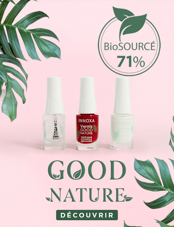 GOOD NATURE - Vernis à ongles 71% biosourcés