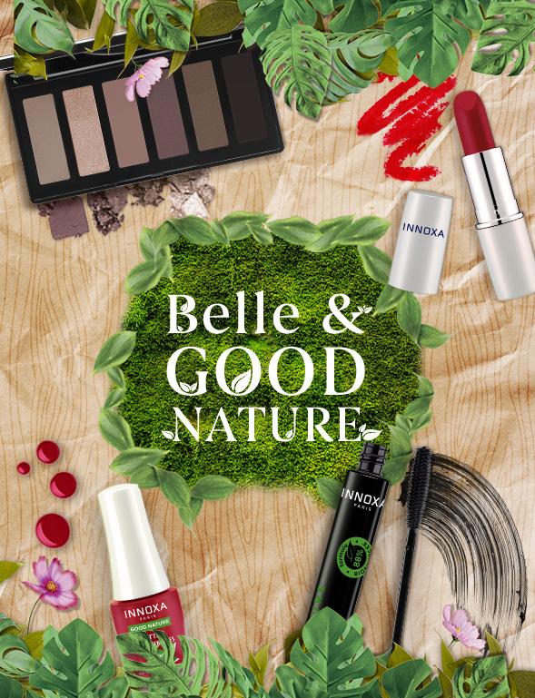 Le maquillage INNOXA explore le territoire de la beauté bio-sourcée